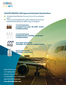 Antiseptic Hand Sanitizer Brochure